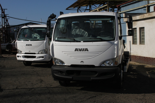 AVIA D120 N nosič kontejnerů