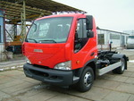 Limitovaná nabídka vozů s nosičem kontejnerů AVIA D75 N a AVIA D100 N